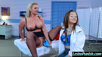 Lez Teen Girl (dani&phoenix) Get Toy Punish By Mean Lesbo movie-14