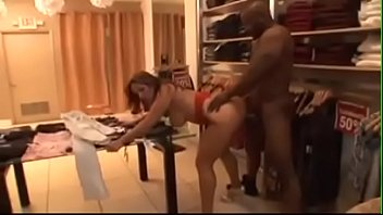 Big Ass latina fuck in a store