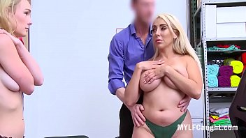 Mom And Daughter Caught Stealing And Forced Fucked- Kylie Kingston, Natalie Knight