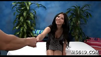 Amazing girl with perky tits gets fun of deep  face hole job