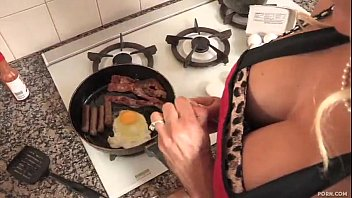 Son fucks his stepmom after his father goes to work thumbnail