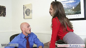 Hot office fuck Hot office babe dani daniels riding cock