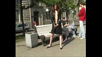 naughty in public naked under matrix coat Vorschaubild