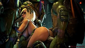 Man sex tortue Tmnt all four turtles fuck blond