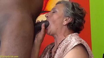 chubby 80 years old mom first interracial sex thumbnail