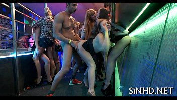 Free party sex tubes - Steamy sexy club actions