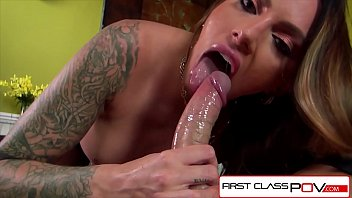 FirstClassPOV - Juelz Ventura sucking a monster cock, bubble butt & huge tits