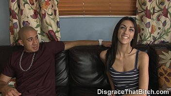 Disgrace That Bitch - The fucking of babysitter Chloe Amour teen porn blowjob
