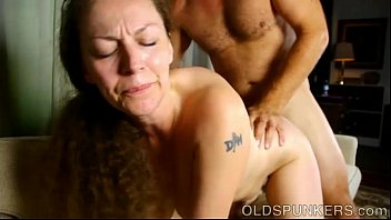 Naked old broads galleries Busty mature broad enjoys a hot fuck and a sticky facial cumshot