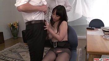 Premium office sex along nude babe Rina Mayuzumi - More at Pissjp.com