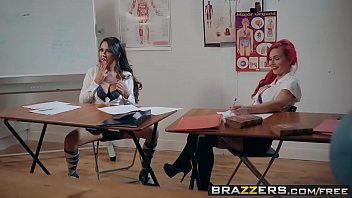Brazzers - Big Tits at School -  Learning The Hard Way scene starring Roxxy Lea & Freddy Flavas