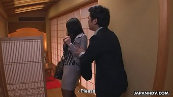Best asian restaurant - Japanese secretary is used by her boss at the restaurant