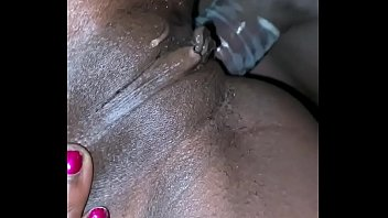 On the phone while getting anal