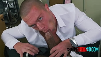 Gay porn stars hiring - Gay hunk bottoms for black top agent in his office
