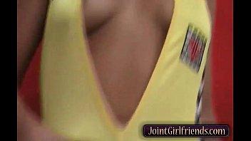 Hot GF in Horny Solo Rubbing