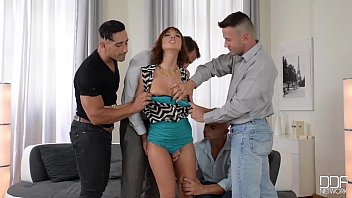 Tina macuha nude - Luxury wife gets the gift of gangbang from her kinky husband