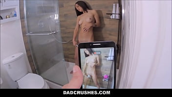Step Dad Catches Daughter Masturbating In Shower