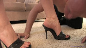 Worshiping Megan's Divine Feet - Femdom foot fetish