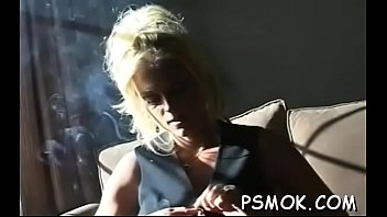 Free sucking on the pussy clips - Girl talking on the phone and playing with her hairless slit