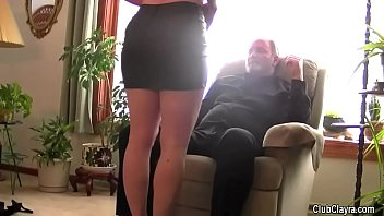 Men sharing wife sex Beautiful wife blindfolded and shared by her husband humiliation, old guy, hard, moans