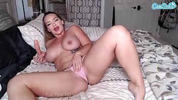Camsoda - Cali Carter Big Dildo BJ and Masturbation