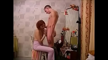 Russian Milf And Young Dude Home Sexual Affair