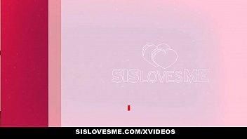 SisLovesMe - Cute Teen Stepsis (Athena Faris) Rides Stepbros