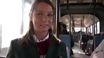 Foxy Di: Public Sex In The Bus