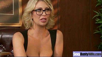 (leigh lezley) Big Melon Round Tits Wife In Hardcore Sex Scene video-21