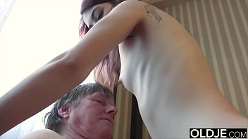 14989 Horny young wife gives old husband a blowjob and gets pussy fuck preview