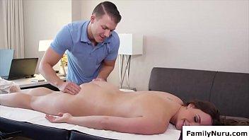 Milf massage doggy style fucking