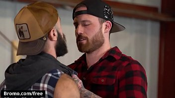 Free gay amateur videos trailers Bromo - the lumber yard scene 1 featuring jordan levine and teddy bear - trailer preview