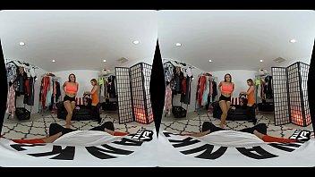 WankzVR - Gia Derza & Sydney Cole - Fitting Room Frenzy