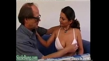 Pervent Father Fucking with not his Big Natural Tits Daughter