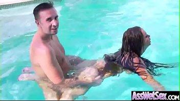 Deep Hard Anal Sex With Big Round Ass Slut Girl (Nikki Benz) video-22