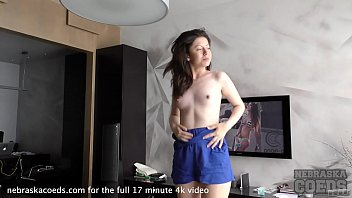 Virgin coeds Virgin sharlote strip tease and double dildo dp