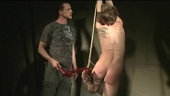 Young slut gets hard bondage sex. BDSM movie.