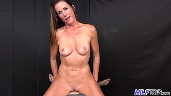 MILF Trip - Athletic brunette MILF fucked by fat cock - Part I
