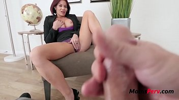 Brunette Mom Teaches Son Some Self Control- Ryder Skye