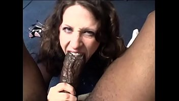 One can pass in flying all Texas while cute brunette babe Lena Ramon tries to give head to legedary stallion Mr 18 Inches