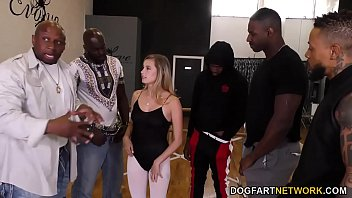 Carolina Sweets Interracial Gangbang