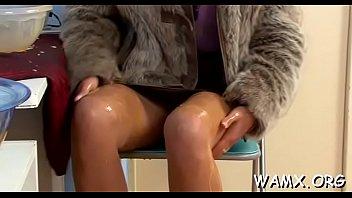 Foot porn at work in fetish scenes