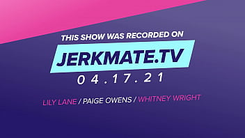 Whitney Wright,Lily Lane,And Paige Owens Are Tribbing, Face Sitting And Much More Live On JerkmateTv