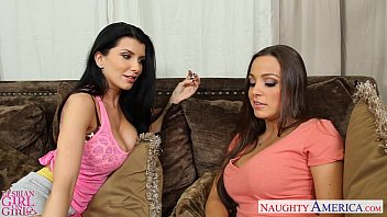 Girls in busty bras Busty lesbians abigail mac and romi rain toy twats