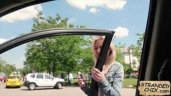 Czech babe fucked in car Katy Rose.1.1