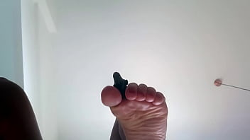 Giantess Women Feet play with Minifigure