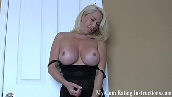 You are going to eat your cum for me CEI