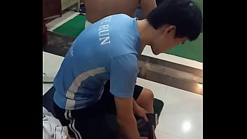 Nude public sports - Chinese naked guy in phnom penh sport club