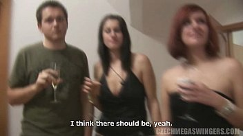Soft swingers allowed at parties Amateur orgy at czech swingers party