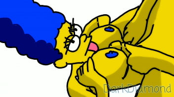 Animated sex simpson Marge simpson having sex